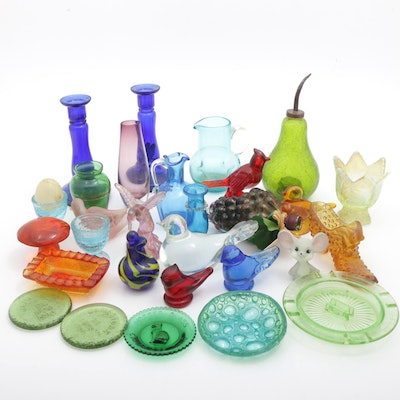 Fenton Glassware Figurines and More
