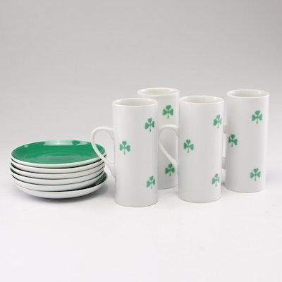 Schmid Porcelain Irish Coffee Set