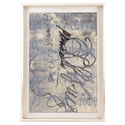 Abstract Limited Edition Lithograph