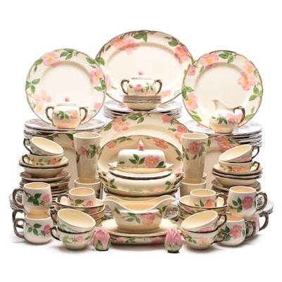 "Franciscan ""Desert Rose"" and Other Earthenware Dinnerware"