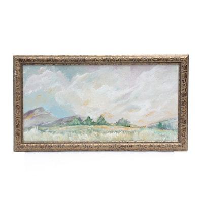 """Robert Riddle Acrylic Painting """"An Alabama Place"""""""