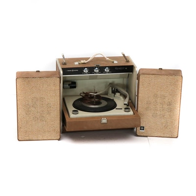 General Electric Stereophonic Portable Turntable