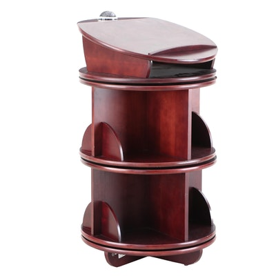 Levenger Wood Revolving Bookshelf Podium