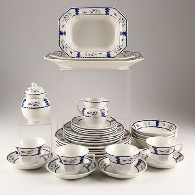 "Adams ""Lancaster"" Ironstone Dinnerware, Late 20th Century"
