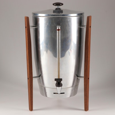 Mid-Century Modern Coffee Perculator by Penncrest