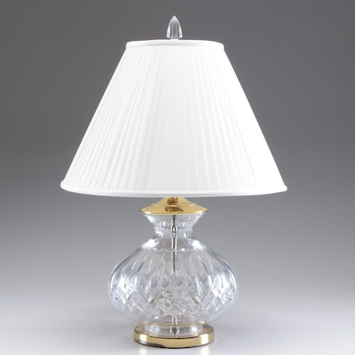 """Waterford Crystal """"Lismore"""" Table Lamp"""