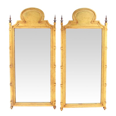 Carolina Mirror Mediterranean Style Gold Painted Wall Mirrors