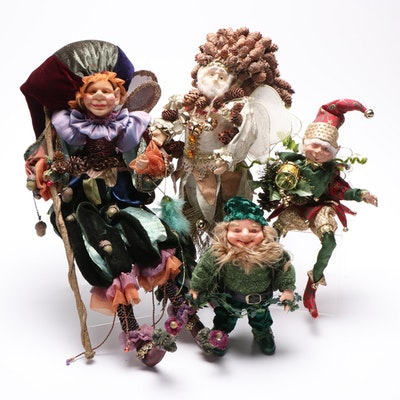 Christmas and Holiday Elf Figurines