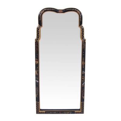 Henredon Chinoiserie Gilt Mirror, Mid to Late 20th Century