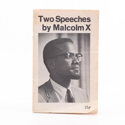 """Two Speeches by Malcolm X"", circa 1970"