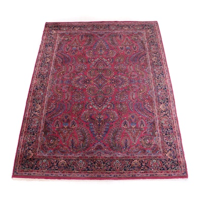"Machine Made Karastan ""Sarouk"" Wool Area Rug"