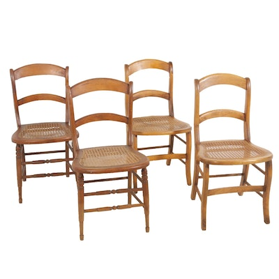 Caned Seat Side Chairs
