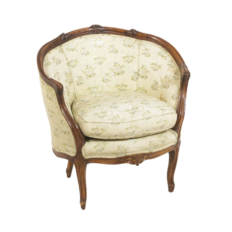 French Provincial Chair >> French Provincial Club Chair Antique