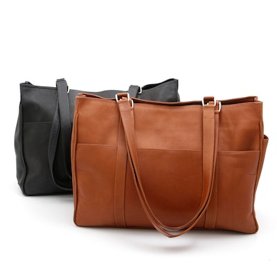 Piel Leather Tote Bags