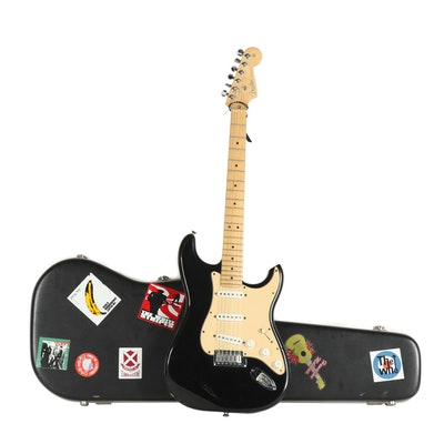 Fender Stratocaster Electric Guitar with Case, circa 2001