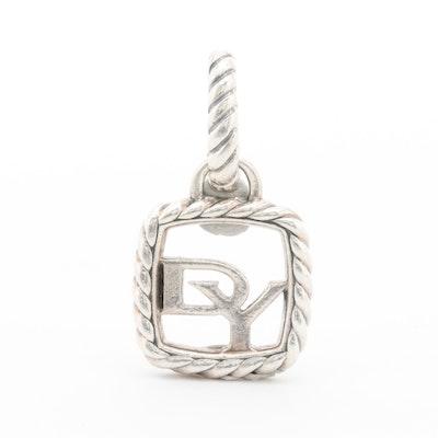 David Yurman Sterling Silver Pendant