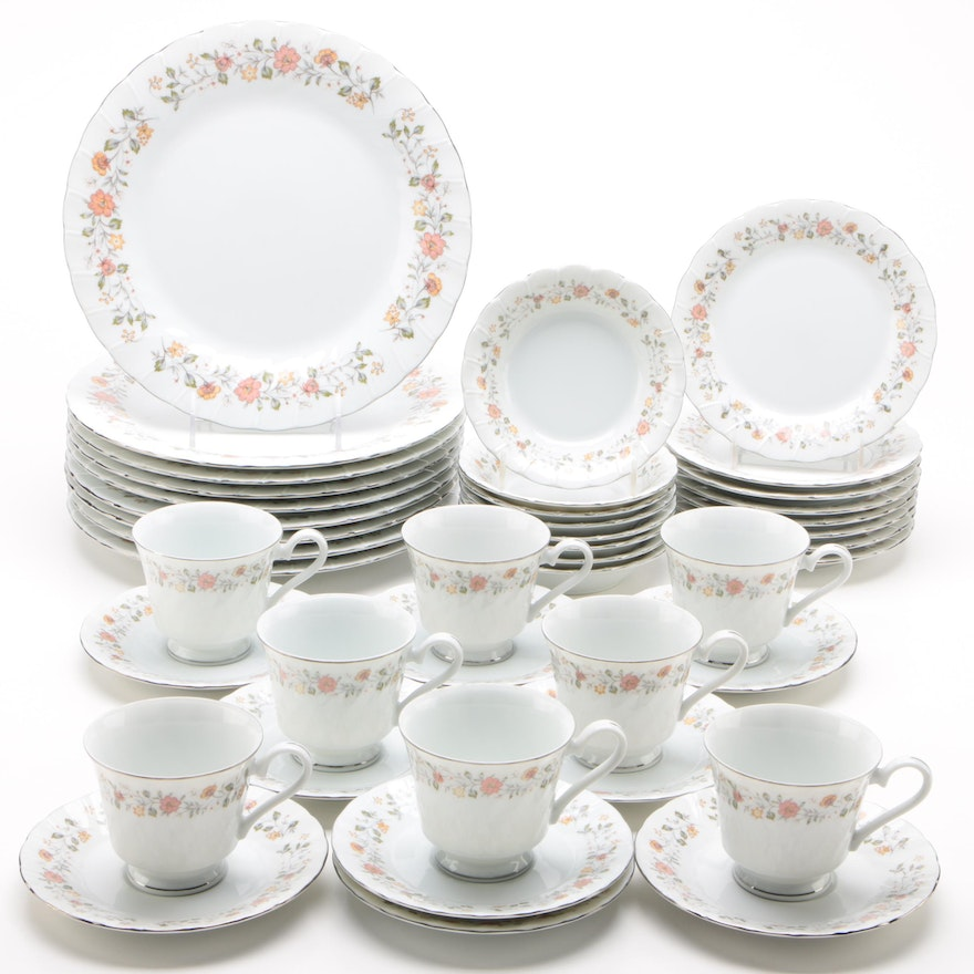 "Sheffield ""Bouquet"" Porcelain Dinnerware"