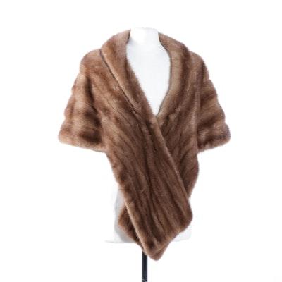 Mink Fur Stole from Jenny of Cincinnati, Vintage
