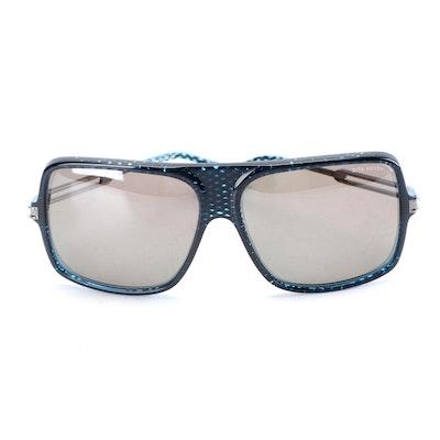 Dita Hendrix DRX 2035C Titanium Rectangular Sunglasses