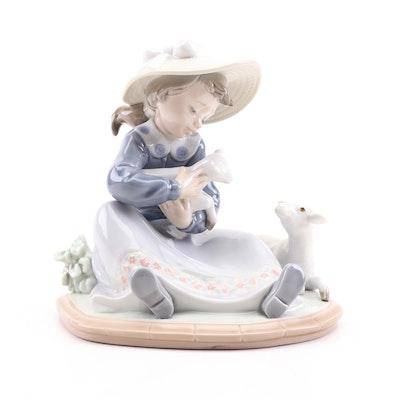 "Lladró ""Lambkins"" Porcelain Figurine"