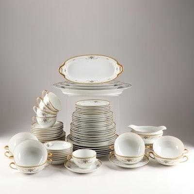 """Noritake Porcelain """"Rosemary"""" Dinnerware"""