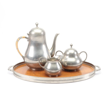Royal Holland Pewter Coffee Service, Mid-Century