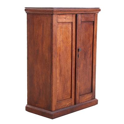 Cherry Cabinet, 19th Century Antique