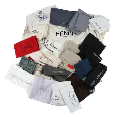 Designer Dust Covers Including Fendi Garment Bag