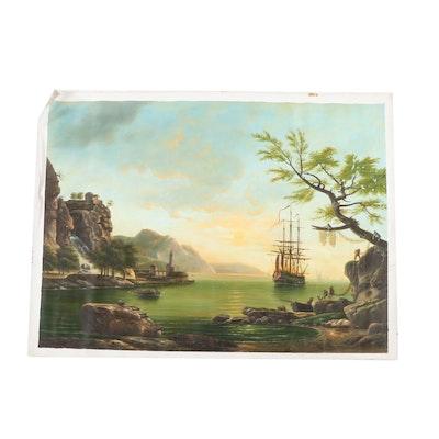 Chelsea House Inc. Seascape Oil Painting