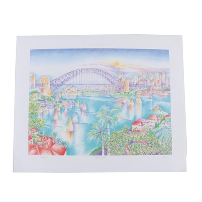 """Dorota Mears Offset Lithograph """"Olympic Sydney"""