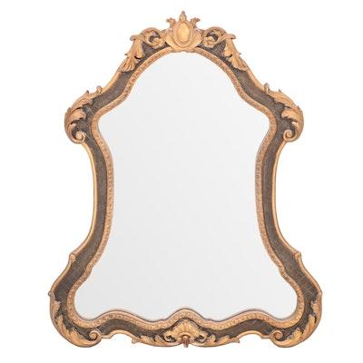 Italian Rococo Style Wall Mirror, Contemporary