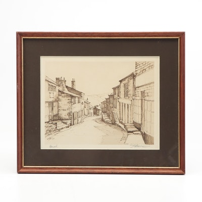 "Photomechanical Print ""Haworth"""