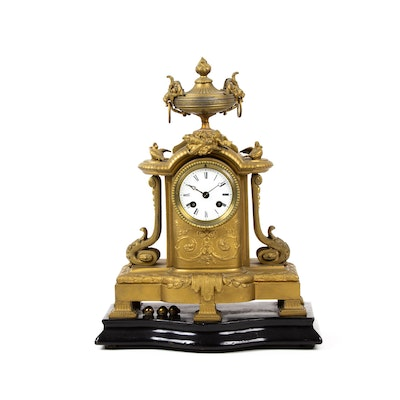 French Provincial Mantel Clock