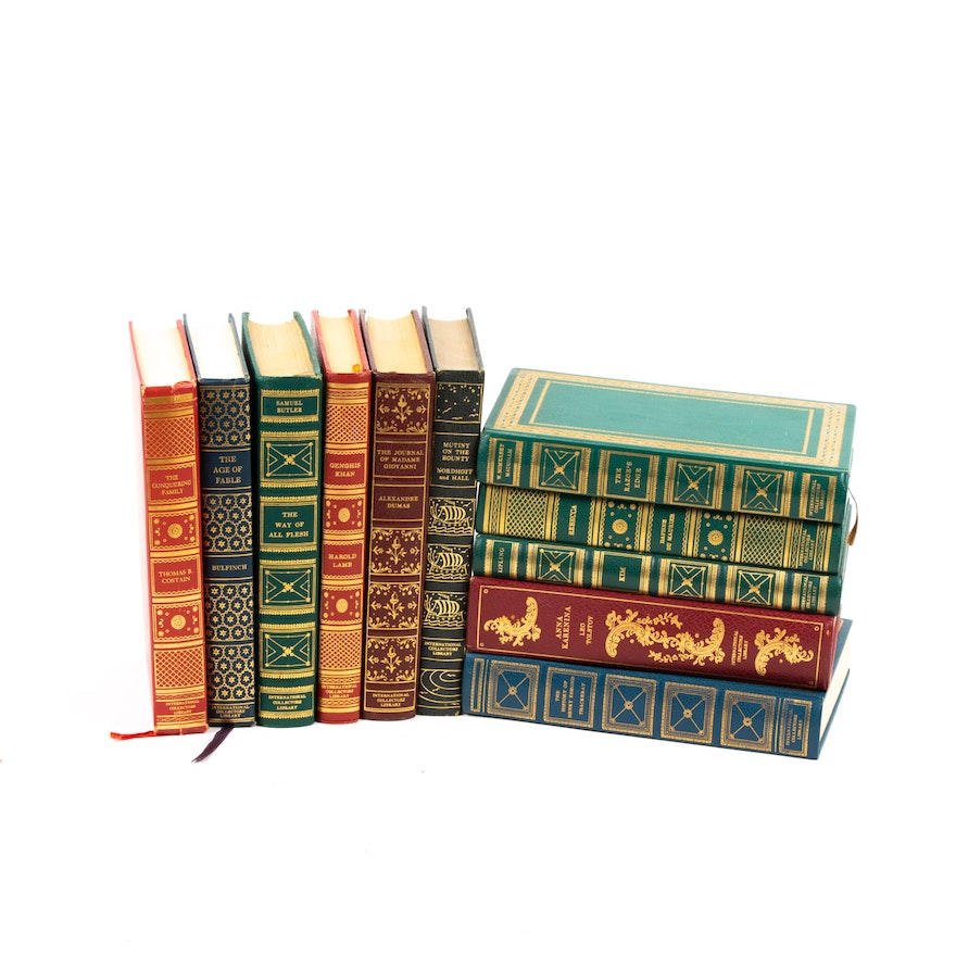 International Collectors Library Leather Bound Classics