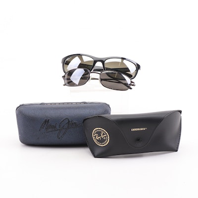 Ray-Ban Polarized Sunglasses with Chromance Lenses and More