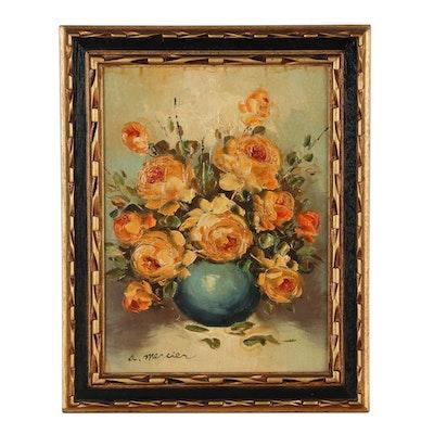 A. Mercier Still Life Oil Painting