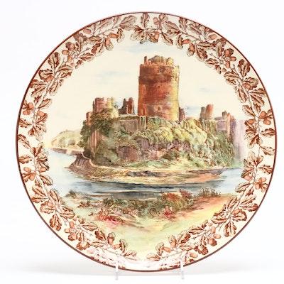 "Royal Doulton China ""Pembroke Castle"" Collector's Plate"