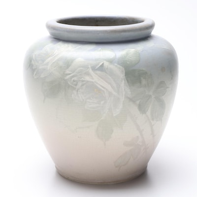 "Weller Pottery ""Hudson Light"" Vase, Early 20th Century"