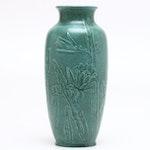 "Rookwood Pottery Earthenware ""Daffodil Crystalline"" Vase, 1966"