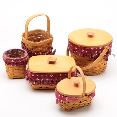 Longaberger Baskets including Address Basket