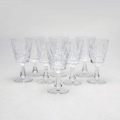 "Waterford Crystal ""Kylemore"" Cut Crystal Water Goblets"