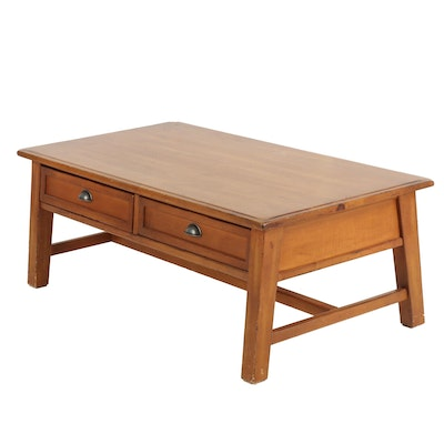 Contemporary Wooden Coffee Table