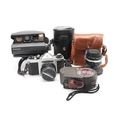 Vintage Cameras Featuring Pentax