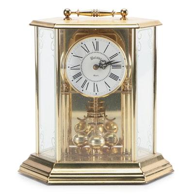 Bulova Brass Anniversary Clock