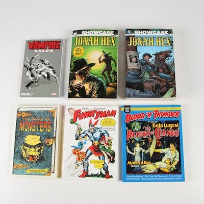 "Comic Books including DC Comics ""Jonah Hex"" Compendia Volumes I and II"
