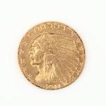 1911 Indian Head $2 1/2 Gold Quarter Eagle
