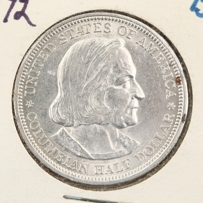 1892 Columbian Exposition Silver Half Dollar Commemorative