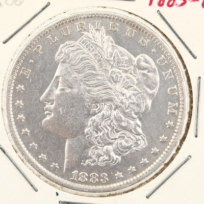 1883-O Silver Morgan Dollar