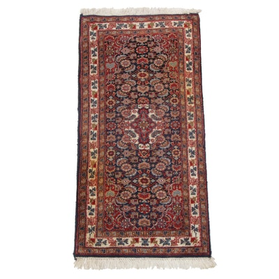 Hand-Knotted Indo-Persian Rug