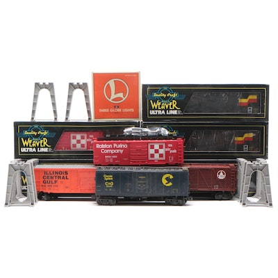 Weaver, Atlas, Lionel, and Peterson Supply Company Model Trains